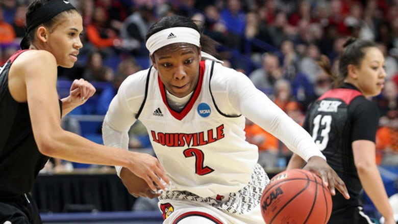 Louisville routs Oregon State 76-43 to reach Final Four