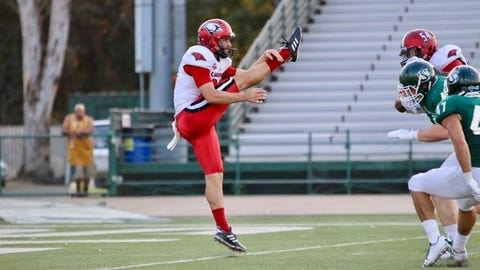 """<p>(STATS) - There were times early last season at Incarnate Word that punter Joe Zema would ask his teammates on the sidelines: """"What does this mean?"""" or """"How does that work?""""</p><p>That Zema was puzzled was understandable. The Australian had barely been living in the United States for two months, let alone participating in college football.</p><p>Zema's learning curve didn't last long. In his only season as a graduate student at the Southland Conference school in San Antonio, he led the FCS in punting, averaging 46.7 yards on 77 punts, and was named to the STATS FCS All-America first team.</p><p>His eye-opening season has turned him into an NFL prospect, graded as a late-round draft pick or a priority free agent.</p><p>""""I guess starting my college season I didn't really expect too much, I just wanted to have a good college season,"""" Zema said. """"It sort of caught everybody's attention a little bit, so I've just been preparing since then. I'd just be happy to go anywhere in any circumstance.""""</p><p>In the buildup to the April 26-28 draft, Zema punted in the NFLPA Collegiate Bowl - one of the leading all-star games - and averaged 50 yards on three attempts. On Wednesday, he will display his skills before scouts at the pro day being hosted by UTSA.</p><p>It's been a whirlwind and an educational eight months for Zema, who has had to get used to driving on a different side of the road in addition to adapting to American college life. But his long-term priorities have changed in the short time period, going from wanting to use up his final season of collegiate eligibility while taking graduate courses in education to seeking an NFL career.</p><p>Zema grew up playing Australian Rules football - """"since I could walk basically,"""" he says - as well as cricket, earning honors in both sports. A bachelor's degree in his homeland is usually completed in three years, and Zema did so at Australian Catholic University, leaving him with the opportunity to play a graduate season at an A"""