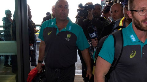 Teary-eyed Lehmann tenders resignation as Australia coach