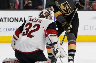 Kevin Connauton's 2 goals lift Arizona over Vegas 3-2