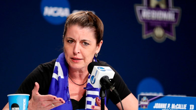 Duke coach McCallie breaks down women's Final Four