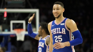 Ben Simmons is on board with Colin Cowherd's 76ers bet