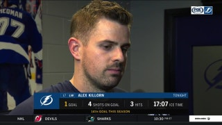 Alex Killorn on his game-winner vs. Maple Leafs