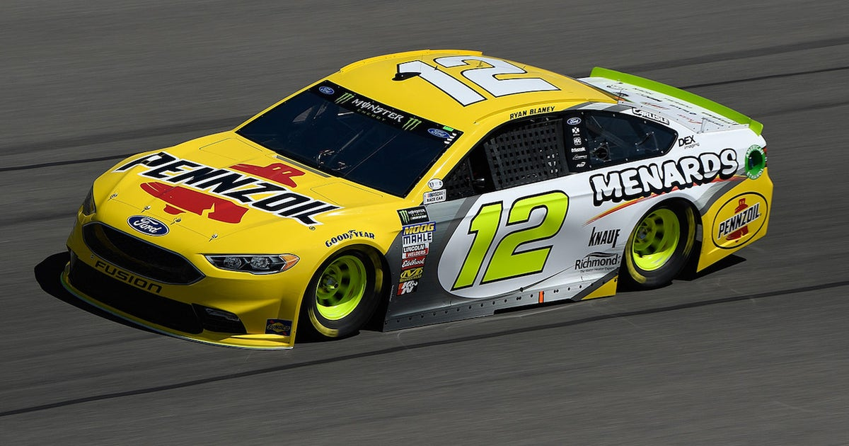 Ryan Blaney Wins The Pole Position 2018 Las Vegas Fox