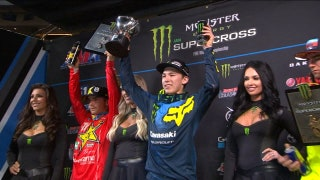 Austin Forkner takes overall win at the Atlanta 250 Triple Crown | 2018 MONSTER ENERGY SUPERCROSS