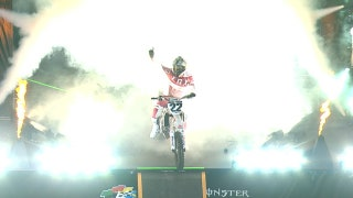 Justin Brayton makes history with his first career 450 win | 2018 MONSTER ENERGY SUPERCROSS