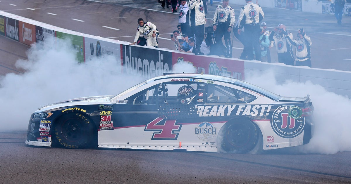 Here is the elite company Kevin Harvick will join if he wins a fourth consecutive race (VIDEO)