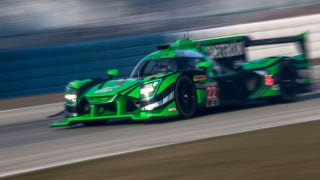 The No. 22 Prototype takes the overall win at the 2018 12 Hours of Sebring