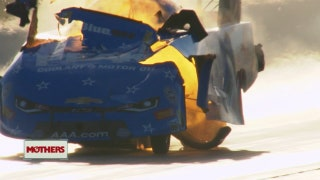 John Force suffers third straight major explosion in Gainesville | 2018 NHRA DRAG RACING