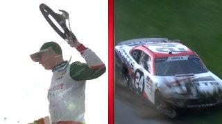 Joey Logano wins as Kaz Grala wrecks | 2018 NASCAR XFINITY SERIES | FOX NASCAR