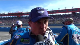 Kevin Harvick on wreck with Kyle Larson: 'Just my fault back there' | 2018 AUTO CLUB SPEEDWAY | FOX NASCAR