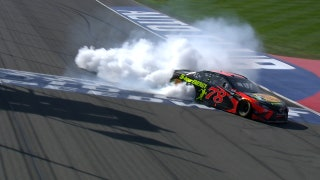 Martin Truex Jr. scores first win of the year in California | 2018 AUTO CLUB | FOX NASCAR