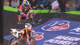 Marvin Musquin dominates the 450 main in Indianapolis | 2018 MONSTER ENERGY SUPERCROSS