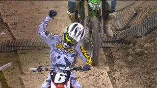 Jeremy Martin wins the 250 main in Indianapolis | 2018 MONSTER ENERGY SUPERCROSS