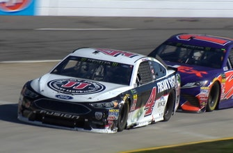 Here's what happened between Denny Hamlin and Kevin Harvick at Martinsville