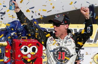 Is Kevin Harvick the man the beat at this point in the year?