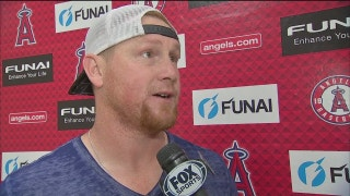 Kole Calhoun talks hitting successes during #LAASpring