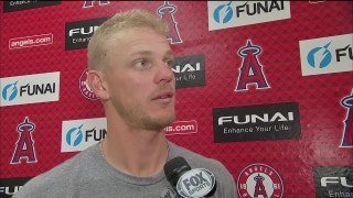 Angels' Parker Bridwell fans five in 5-plus innings vs. Diamondbacks