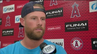 Zack Cozart talks about getting his 'timing back' during #LAASpring