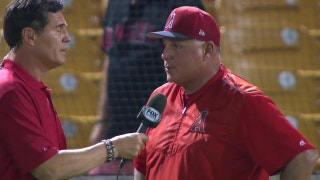 Mike Scioscia 'I think what's encouraging is seeing our pitching come together!'