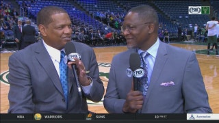 'Dunkology 101' with Dominique Wilkins and Marques Johnson