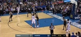 WATCH: Russell Westbrook slam dunk in the first quarter   Kings at Thunder