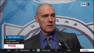 Rick Carlisle on opportunities, loss to Toronto