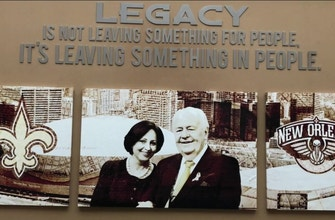 Images of Tom Benson's Legacy | Pelicans Live