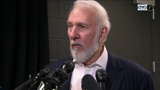 Popovich was his usual charismatic self after defeating Minnesota