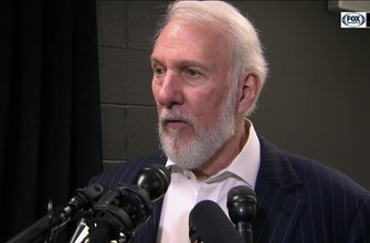 Images of Popovich was his usual charismatic self after defeating Minnesota