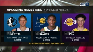 Preview of Home Games to come for New Orleans | Pelicans Live