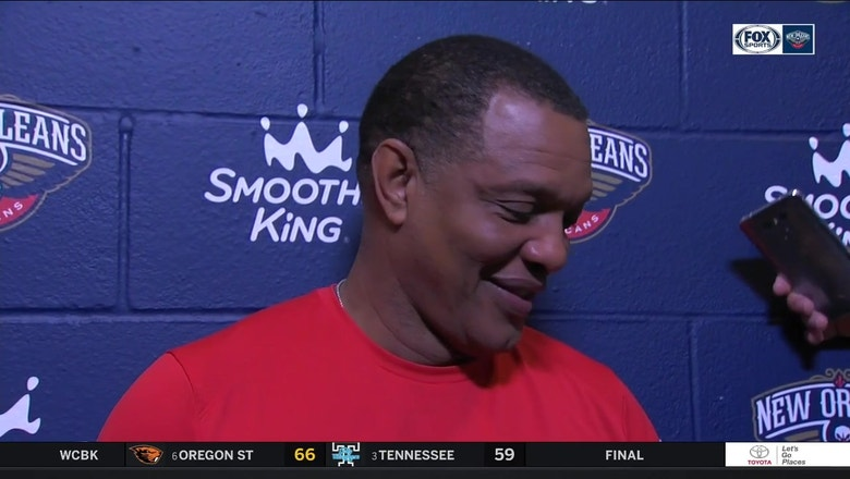 Alvin Gentry: 'I'm just here so I won't get fined'
