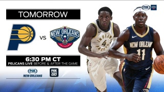 Indiana Pacers at New Orleans Pelicans preview | Pelicans Live
