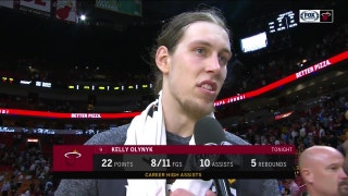 Kelly Olynyk: 'I'm just out there trying to make plays'