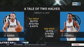 J.J. took over the first half, Yogi had the second | Mavs Live