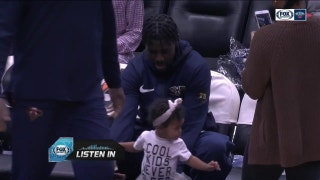 Jrue Holiday Mic'd up during game against Lakers