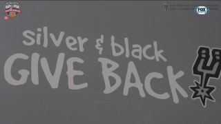 Silver and Black Give Back   Spurs Insider