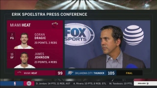 Erik Spoelstra: As a professional, you want games like this that matter