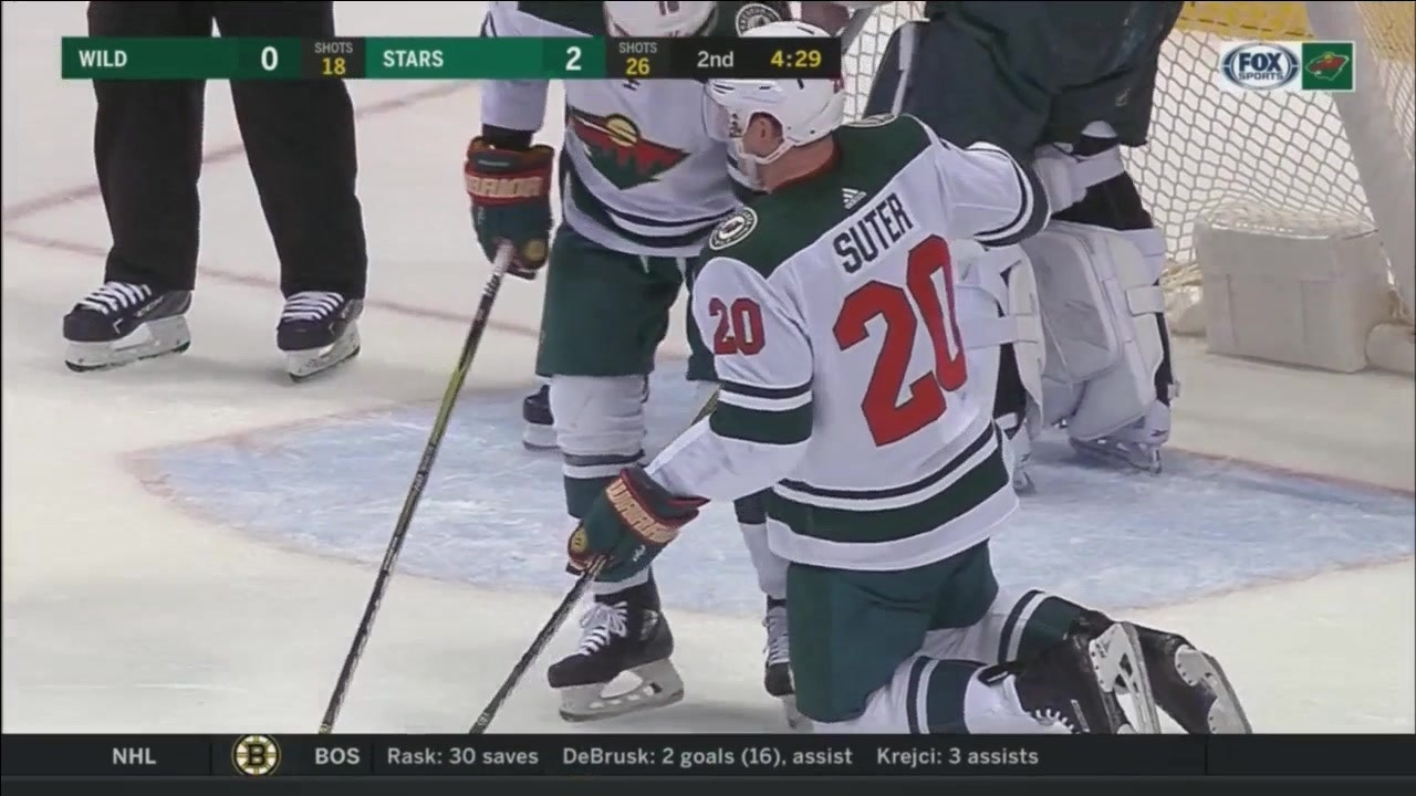 Report: Ryan Suter May Have Suffered A Broken Leg (video)