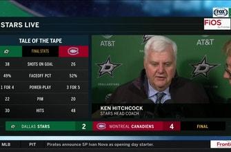 Ken Hitchcock talks 4-2 loss to Montreal