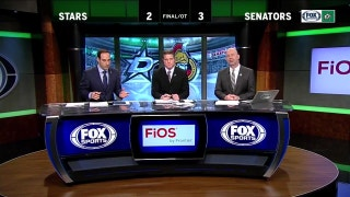 Stars falter late in loss to Senators | Stars Live