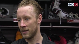 Raanta upset he couldn't make game-saving stop