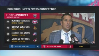 Bob Boughner says power-play struggles hurt Panthers