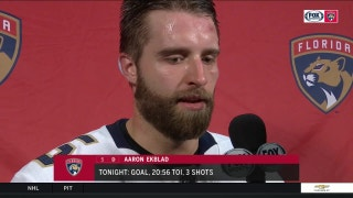 Aaron Ekblad: Tonight was a battle
