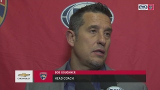 Bob Boughner: 'They were the better team tonight, plain and simple'