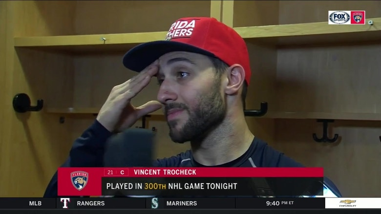 Vincent Trocheck credits Blue Jackets for capitalizing on Panthers mistakes