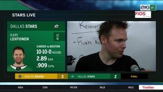 Kari Lehtonen, Stars give up 3 goals in final period against Bruins