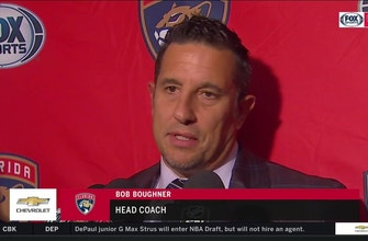 Bob Boughner on loss: 'The 1st period cost us the game'