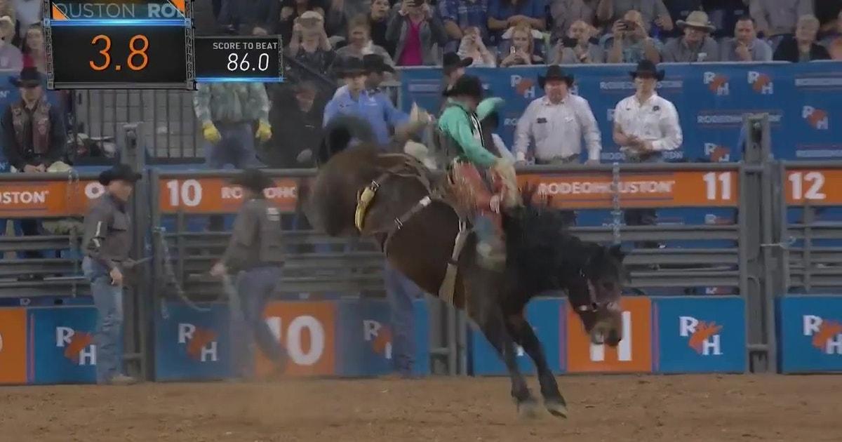 Brody Cress Ties Highest In Saddle Bronc Riding
