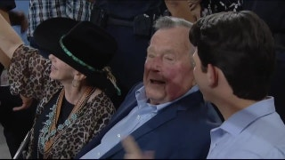 President George H. W. Bush (41) at the Rodeo | RODEOHOUSTON